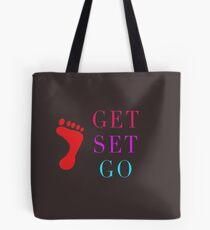 GET SET GO Tote Bag