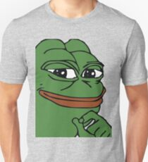 Smug Pepe (Highest Resolution) T-Shirt