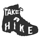 Take a Hike - Hiking Boot by VisionQuestArts