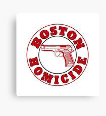 Boston Homicide - Rizzoli And Isles | Baseball Sleeve Canvas Print