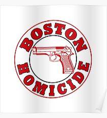 Boston Homicide - Rizzoli And Isles | Baseball Sleeve Poster