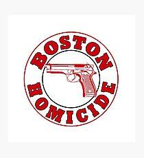 Boston Homicide - Rizzoli And Isles | Baseball Sleeve Photographic Print