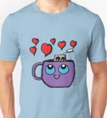 Kawaii Tea Cup and Tea Bag Unisex T-Shirt