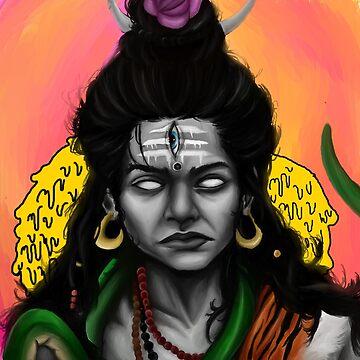 Shiva by snakeshipsart