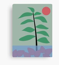"""tree and fruit"" abstract Canvas Print"