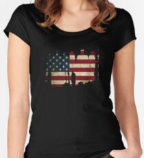 Justice 2017 (USA) Women's Fitted Scoop T-Shirt