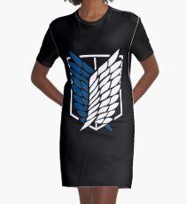 Shingeki kein Kyojin-Logo T-Shirt Kleid