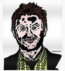 Chris Hardwick Colour/Color Nerdist Fanart Portrait JTownsend Poster