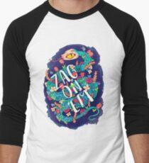 Zag on 'Em!  Men's Baseball ¾ T-Shirt