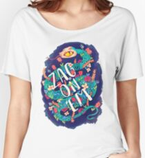 Zag on 'Em!  Women's Relaxed Fit T-Shirt