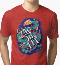 Zag on 'Em!  Tri-blend T-Shirt