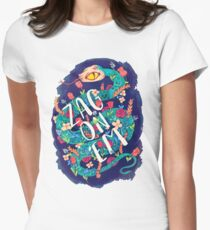 Zag on 'Em!  Women's Fitted T-Shirt