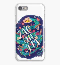 Zag on 'Em!  iPhone Case/Skin