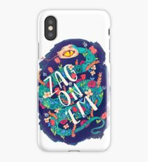 Zag on 'Em!  iPhone Case/Skin