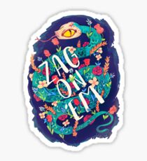 Zag on 'Em!  Sticker