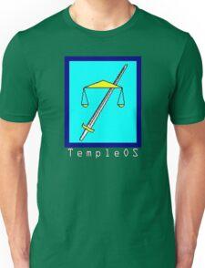 TempleOS Text Logo Unisex T-Shirt