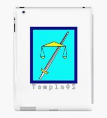 TempleOS Text Logo iPad Case/Skin
