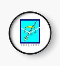 TempleOS Text Logo Clock