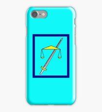 TempleOS Sticker iPhone Case/Skin