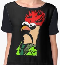 Color Beaker Muppets Fanart by JTownsend Chiffon Top