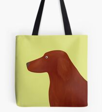 Red Setter Tote Bag
