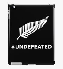 All Blacks Undefeated Fern iPad Case/Skin