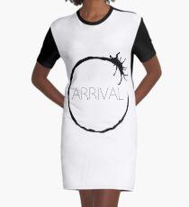 Arrival Movie Symbol Graphic T-Shirt Dress