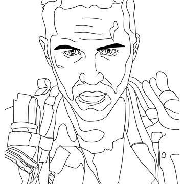 Tom Hardy, Mad Max: Fury Road, Max Rockatansky by thrinny