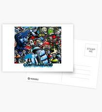 ContraBrand - Hip Hop Graffiti  Postcards