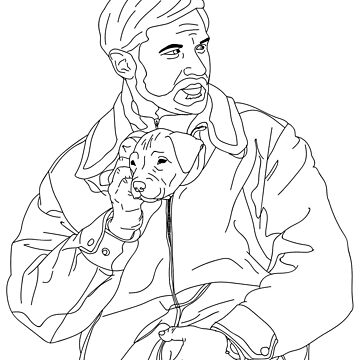 Tom Hardy, The Drop, Bob with Dog by thrinny