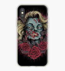 Norma Jeane Zombie iPhone Case