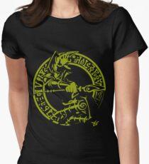 Dark Magician Womens Fitted T-Shirt