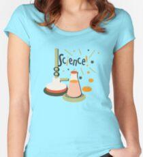 Bunsen and Beaker Women's Fitted Scoop T-Shirt