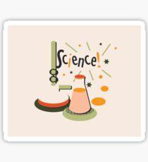 Bunsen and Beaker Sticker