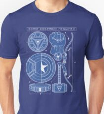Some Assembly Required Unisex T-Shirt