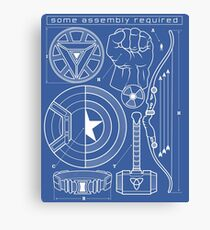 Some Assembly Required Canvas Print