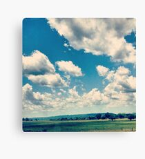 Oklahoma Plains Canvas Print