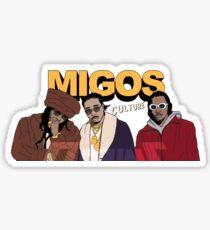 Migos Sticker