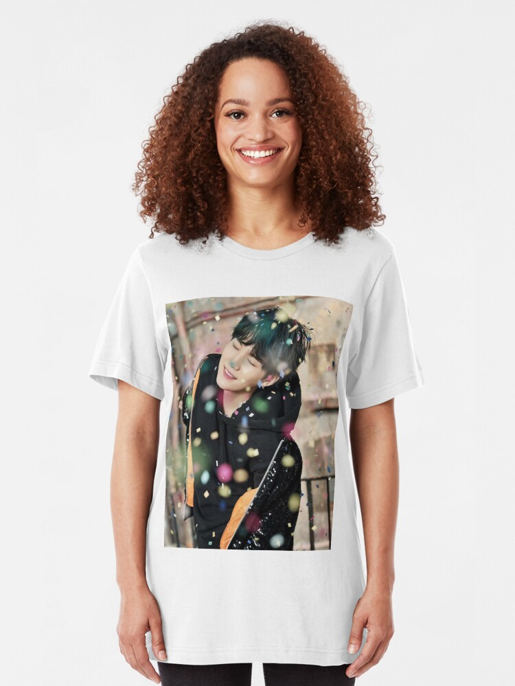Alternate view of Suga / You Never Walk Alone Slim Fit T-Shirt
