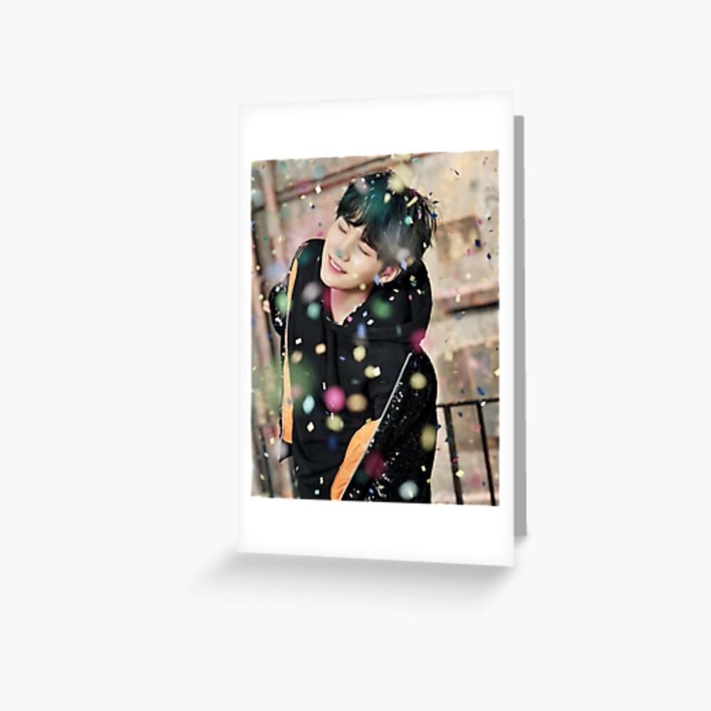 Suga / You Never Walk Alone Greeting Card