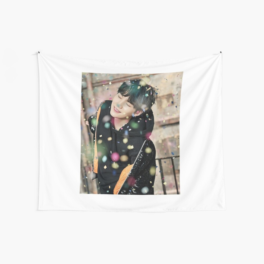 Suga / You Never Walk Alone Wall Tapestry
