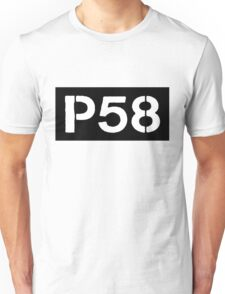 P58 - LOGO IN BLACK RECTANGLE Unisex T-Shirt