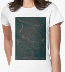 Austin Map Red T-Shirt