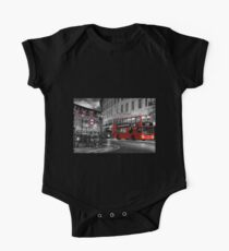 Iconic London: Red Double-Decker Bus Kids Clothes