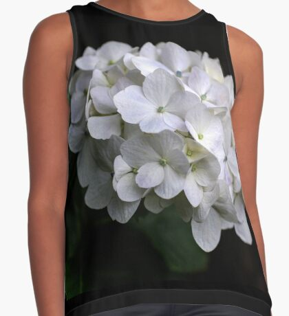 I love a White Hydrangea don't you? Contrast Tank
