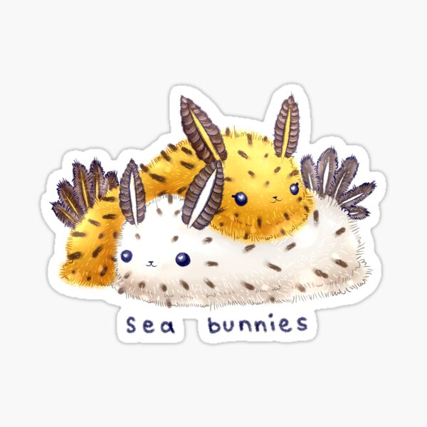 Sea Bunnies Sticker