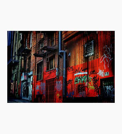 Chinatown Alley Photographic Print