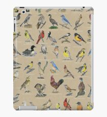 State Bird Series:  All 50 States (annotated) iPad Case/Skin
