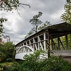 Covered Bridge in Bedford PA by Sherri Fink