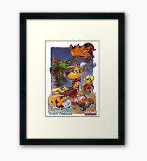 Bush Rescue Framed Print